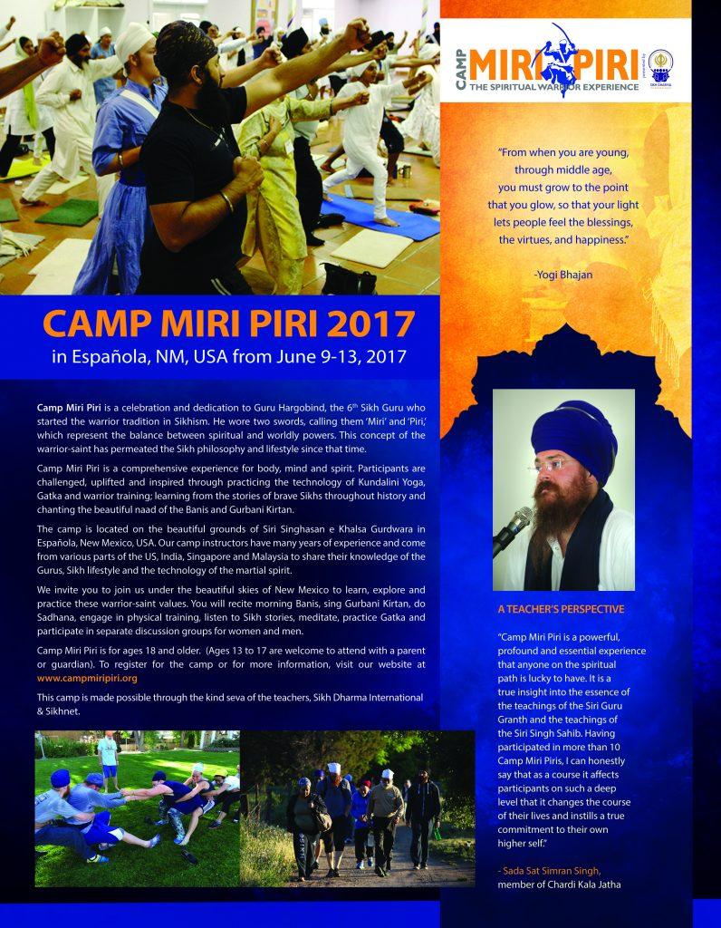 camp miri flyer 2017