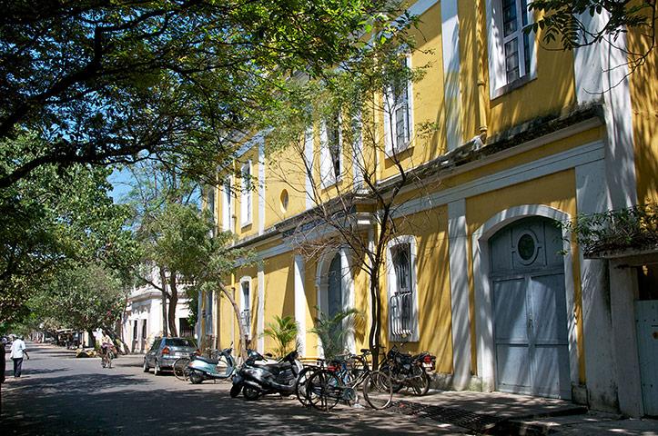 French Quarter Pondicherry Tamil Nadu South India