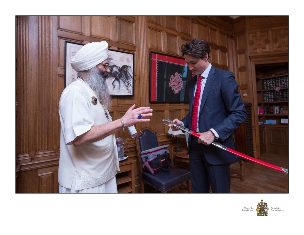 Jot Singh and Prime Minister 2